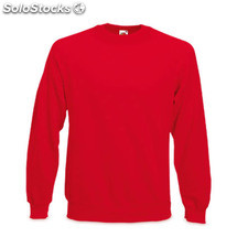 Sweatshirt Raglan Red 7-8