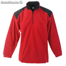 Sweatshirt. Red/black