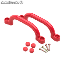 Swing King set de 2 agarraderas de plástico 247 x 68 mm Rojo 2552047