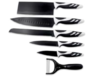 Swiss chef - Set di 6 coltelli svizzeri professionali