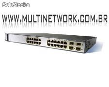 Switch Cisco Catalyst Ws-c3750g-24ps-s com Menor Preço do Mercado!