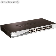 Switch d-link dgs-1210-28 Switch 24p GB + 4x GB sfp