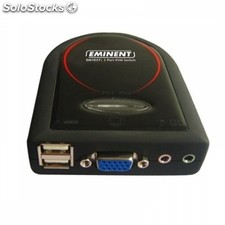 Switch eminent EM1037 kvm 2 PCs+Audio usb