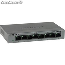 Switch netgear GS308-100PES 8p. Gigabit caja metal