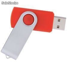 swivel usb pen drive (rosa)