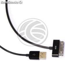 Sync and Charge Cable for iPOD iPhone and iPad USB 1.8m black (OD15)