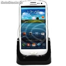 Sync and Charge Cradle for mobile phone smartphone Samsung Galaxy S3 I9300