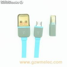 sync data flat micro usb cable