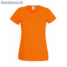 T-shirt cintré Femme FO1372-OR-S, Orange