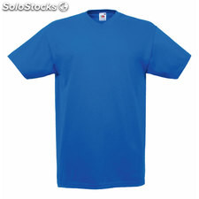 t-shirt col en v FO1066-lr-s, Royal