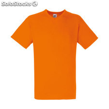 t-shirt col en v FO1066-or-s, Orange