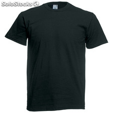 t-shirt côr. Black