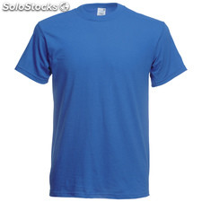 t-shirt côr. Blue
