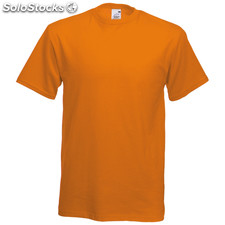 t-shirt côr. Orange
