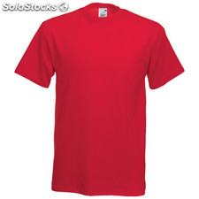 t-shirt côr. Red