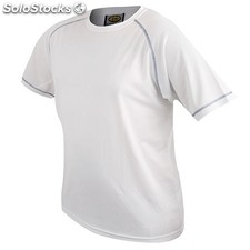 t.shirt d&f blanc couture royal t-550-m