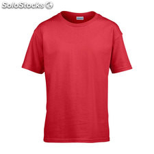 t-shirt Enfant GI640B-rd-m, rouge
