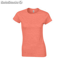 T-shirt femme GI640L-HR-S, Orange bruyère