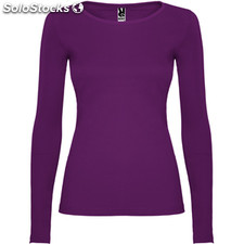 t-shirt Femme pourpre casual collection invierno