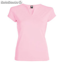 t-shirt Femme rose clair casual collection verano