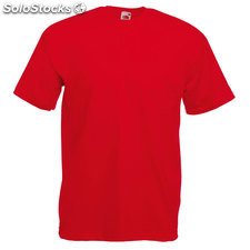 t-shirt FO1036-rd-s, rouge