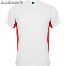 t-shirt Homme blanc/rouge sport collection
