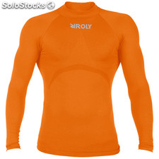 t-shirt Homme orange sport collection