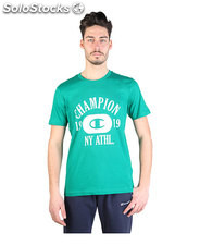 t-shirt uomo champion verde (33969)