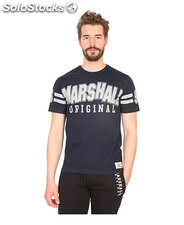 t-shirt uomo marshall original blu (41438)