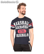 t-shirt uomo marshall original blu (41454)