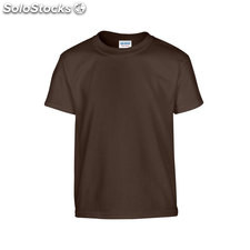 T-shirt Youth GI500B-DC-XS, Cioccolato fondente