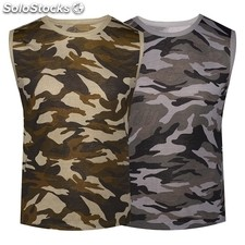 T Shirts Homme Camouflage Ref. F 922