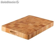 Tabla de cortar de madera rectangular 455 x 305mm vogue