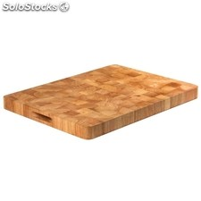 Tabla de cortar de madera rectangular 610 x 455mm vogue
