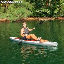 Tabla Paddle Surf Profesional Con Remo Asiento Desmontable 335 x 76 x 15 cm.