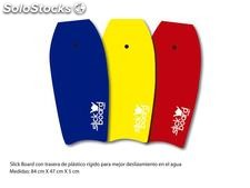 Tabla slick board 3 colores playa 84cm