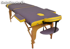 Table de massage pliable en bois