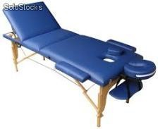 Table de massage pliante en bois a 3 plans