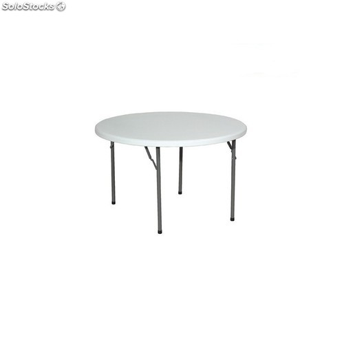 Table de r ception ronde pliante 180 cm - Table ronde 180 cm diametre ...