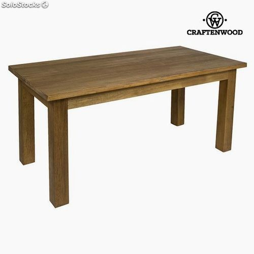 Table de Salle à Manger Teck Mdf Marron - Collection Be Yourself by  Craftenwood