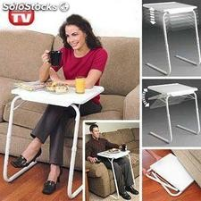 Table Mate Mesa plegable portatil Anunciada en Television,revolucionaria