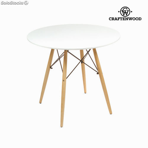 Table X Blanc80 De Hêtre 75 Bois CmBy 80 Mdf Craftenwood 2IEW9eDHY