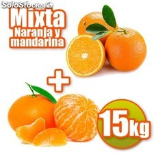 Table mixte et de mandarine 15 kg