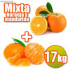 Table mixte et de mandarine 17 kg