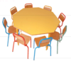 table scolaire