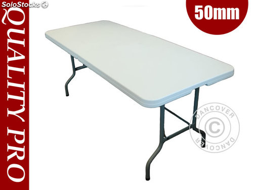 Table pliante 182x74x74 cm 25 pi ce for Table exterieur d occasion