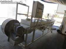 Table sieve, cooler, 5000 x 700 mm.