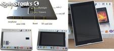 "Tablet 7"" - 3G - Quadcore con Custodia in pelle e tastiera"