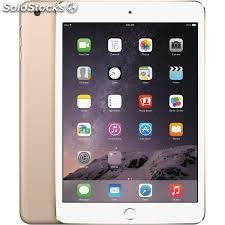 Tablet apple ipad mini 3 4G 16GB gold demo