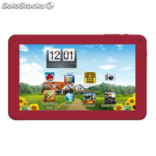 "Tablet brigmton 9"" btpc-902 roja capacitiva 4.0"